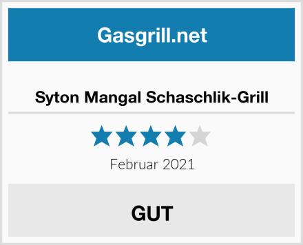 Syton Mangal Schaschlik-Grill Test