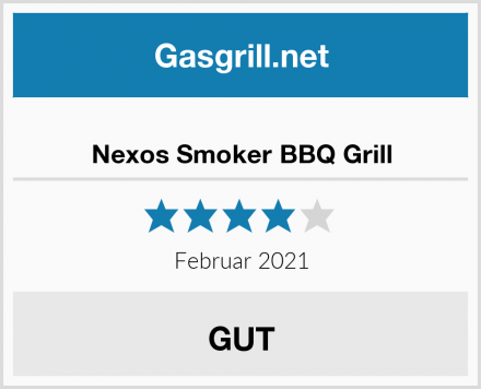 Nexos Smoker BBQ Grill Test