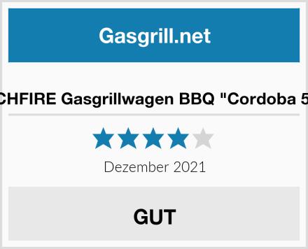 "TECHFIRE Gasgrillwagen BBQ ""Cordoba 510"" Test"