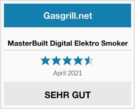 MasterBuilt Digital Elektro Smoker Test