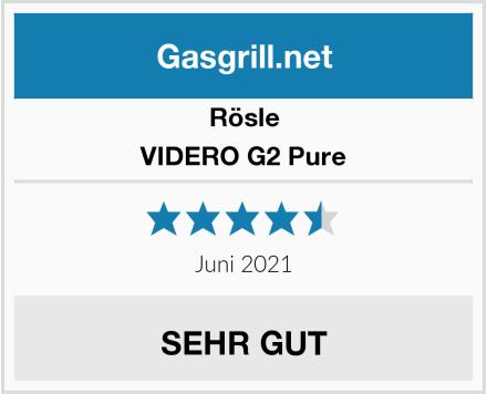 Rösle VIDERO G2 Pure Test