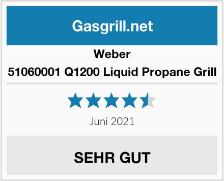 Weber 51060001 Q1200 Liquid Propane Grill Test