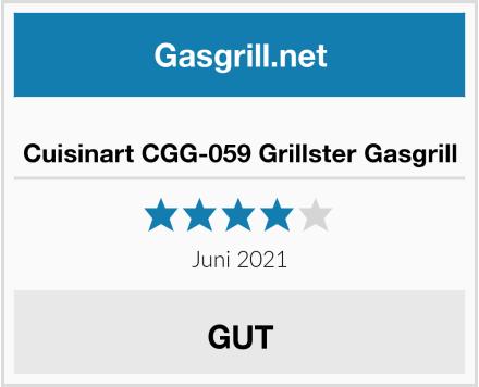 Cuisinart CGG-059 Grillster Gasgrill Test