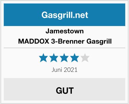 Jamestown MADDOX 3-Brenner Gasgrill Test