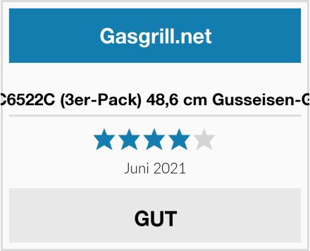 Votenli C6522C (3er-Pack) 48,6 cm Gusseisen-Grillroste Test