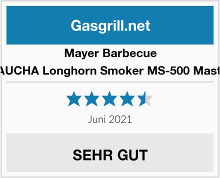 Mayer Barbecue RAUCHA Longhorn Smoker MS-500 Master Test