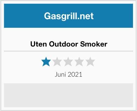 Uten Outdoor Smoker Test