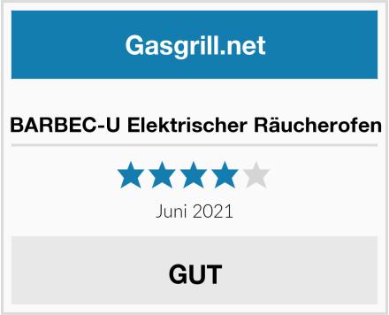 BARBEC-U Elektrischer Räucherofen Test
