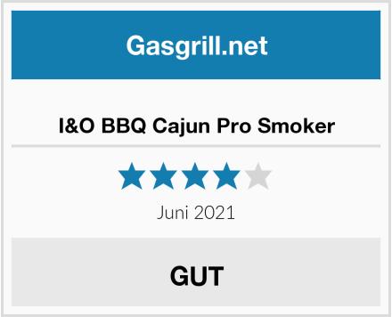 I&O BBQ Cajun Pro Smoker Test
