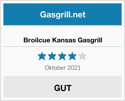 Broilcue Kansas Gasgrill Test