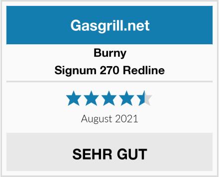 Burny Signum 270 Redline Test