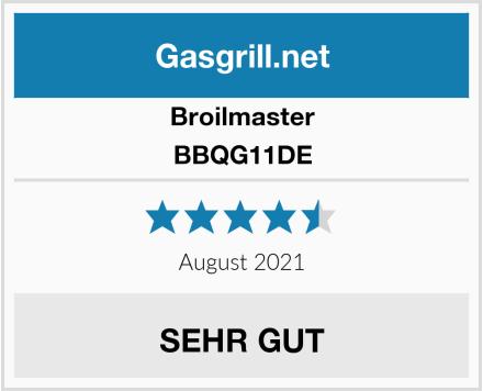 Broilmaster BBQG11DE Test