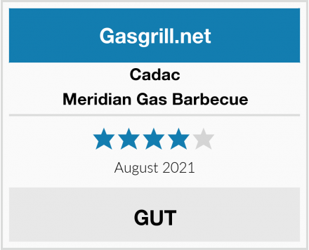 Cadac Meridian Gas Barbecue Test