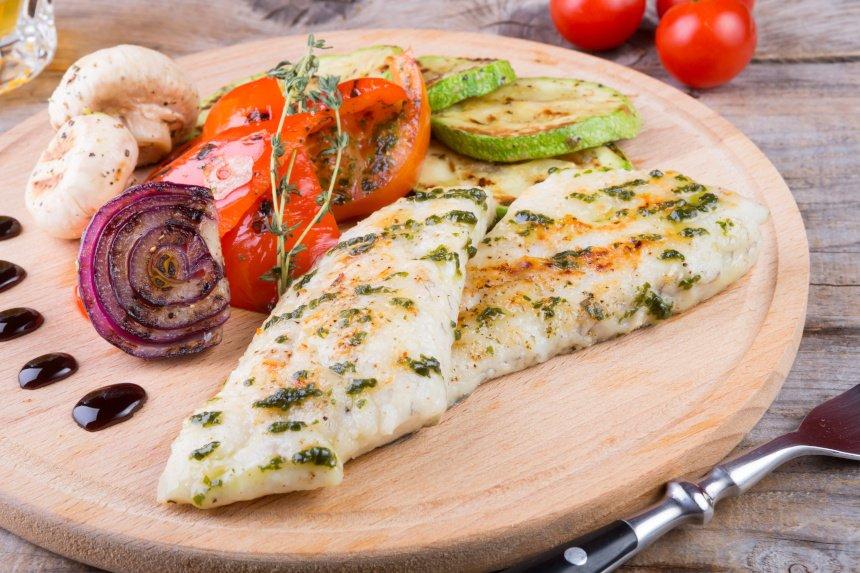 Statt Knoblauchbrot lieber gegrilltes Gemüse