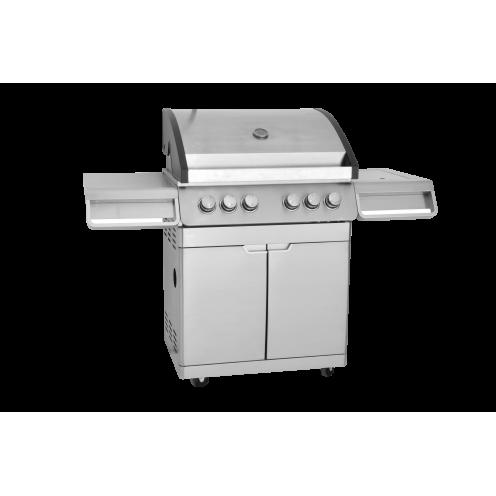 BBQ Master XL Pro - Edelstahl Gasgrill
